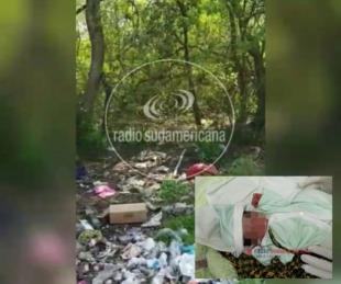 foto: Video: este es el lugar donde encontraron a Luis Nazareno