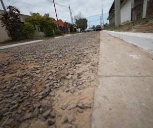 foto: Provincia inauguró 5.100 metros de ripio en el barrio 9 de Julio