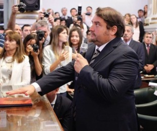 foto: El diputado Diego Pellegrini evoluciona favorablemente