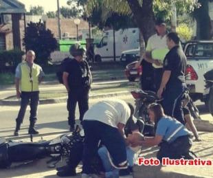 foto: Conductor atropelló a un inspector de tránsito y se dio a la fuga