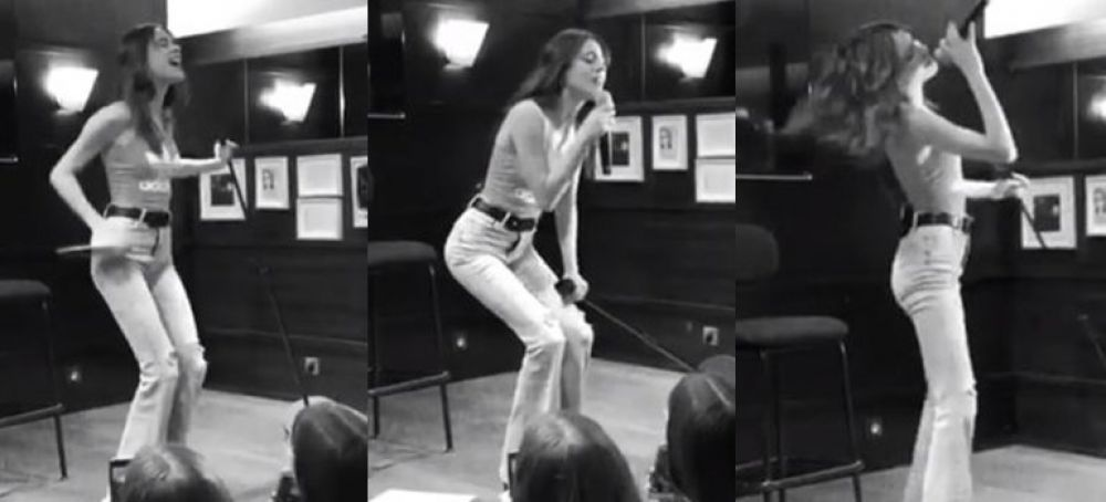 foto: ¡Mega internacional! Tini cantó ante sus fans en París