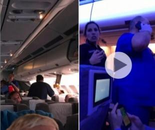 foto: Terror en el aire: Varios heridos por turbulencias en un vuelo