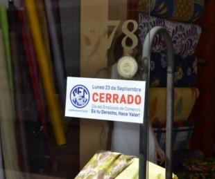 foto: Día del Empleado de Comercio: los negocios estarán cerrados