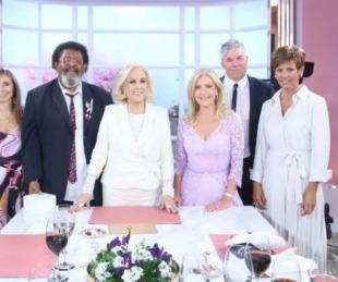 foto: Mirtha Legrand puso su continuidad en la televisión