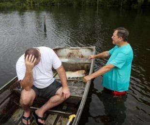 foto: La tormenta tropical Imelda se cobró la quinta víctima fatal en Texas