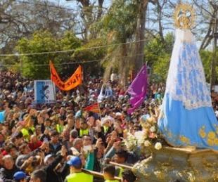 foto: Unos 300 mil peregrinos se congregaron ante la Virgen de Itatí