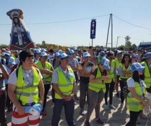 foto: Tras 40 años de peregrinaje los jóvenes llegan a Itatí a pedir paz