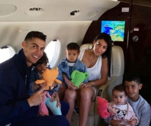 foto: La primera entrevista televisiva de Georgina Rodríguez, la novia de Ronaldo