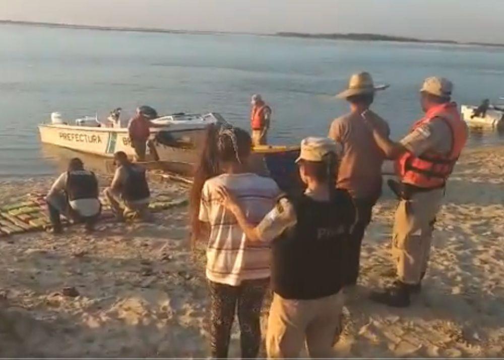 foto: Prefectura desarticuló una banda narco que operaba en el litoral