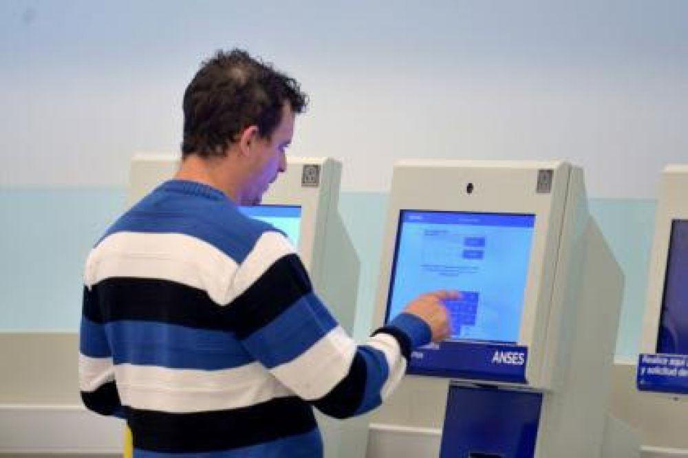 foto: Anses incorporó nuevas funciones en las terminales de autoconsulta