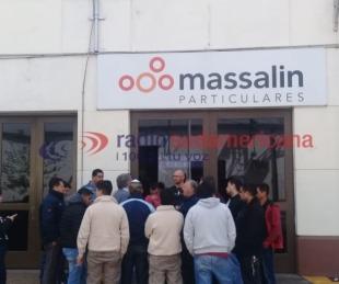 foto: Mirá la carta de despido que recibieron los obreros de Massalin