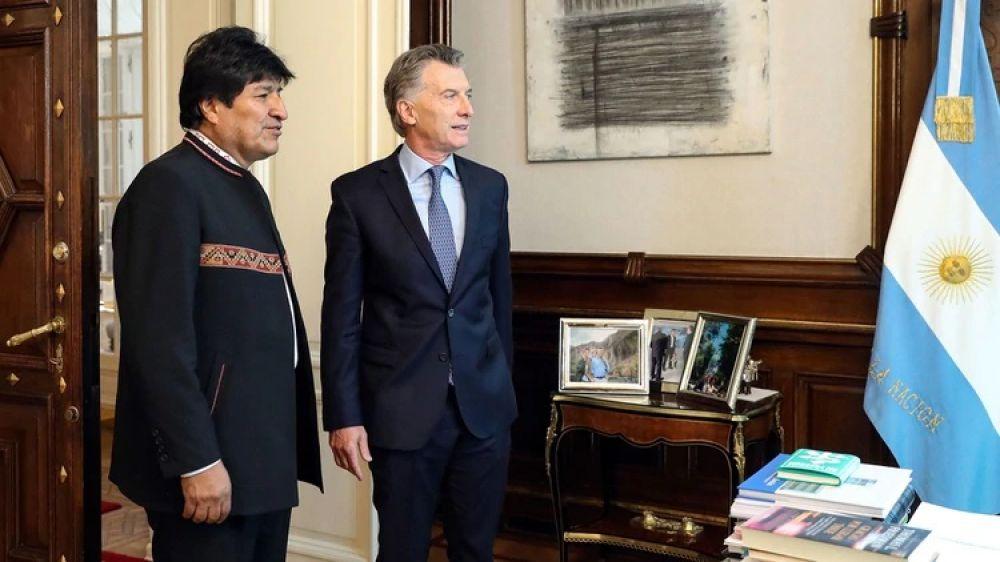 Macri no reconocerá el triunfo de Evo Morales hasta el escrutinio final