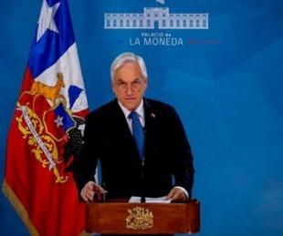 foto: Piñera pidió perdón por