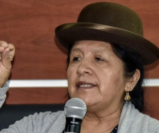 foto: Arrestaron a la presidente del Tribunal Supremo Electoral de Bolivia