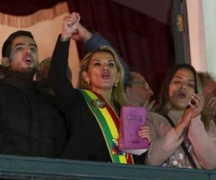 foto: El Gobierno argentino no reconoce por ahora a Jeanine Áñez