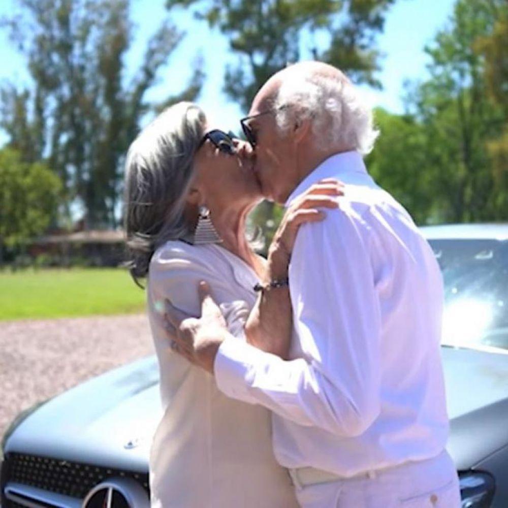 foto: Carlos Bianchi, Margarita y un divertido video para celebrar sus 70 años