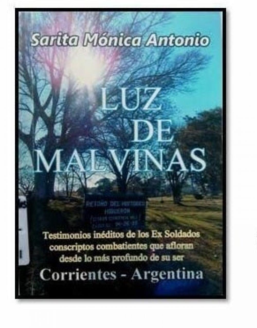 foto: Este sábado se presentará 10 libros sobre Malvinas