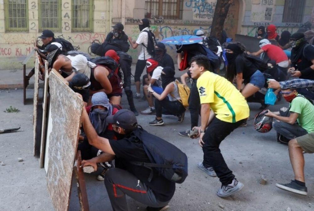 foto: Santiago y otras ciudades viven una nueva jornada de protestas