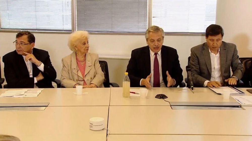 foto: Quiénes estuvieron con Alberto Fernández en el Consejo contra el Hambre