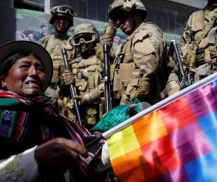 foto: Batalla campal entre cocaleros y las fuerzas: hay ocho muertos