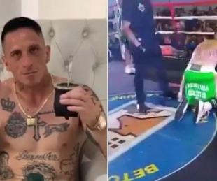 foto: El impactante nocaut que sufrió el ex arquero Pablo Migliore