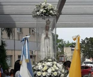 La llegada de la Virgen Peregrina de Fátima a Corrientes en imágenes