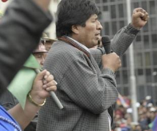 foto: Guiño de Evo Morales a mediación de la Unión Europea o Mujica