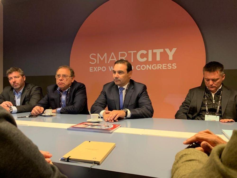 foto: Valdés y Tassano participan de la Exposición Mundial de Smart Cities