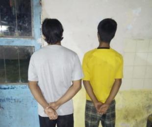 foto: Fueron atrapados intentando robar un grupo electrógeno
