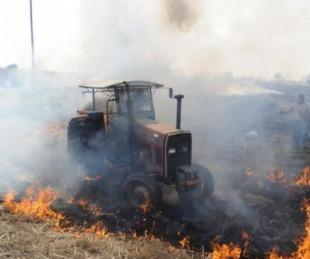 foto: Incendio forestal: