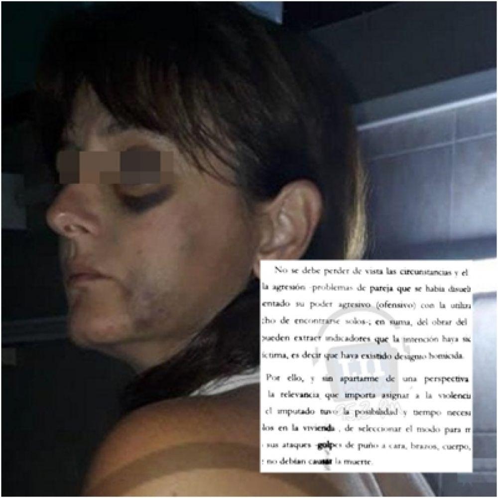 foto: Polémico fallo dejó libre a abogado detenido por violencia de género