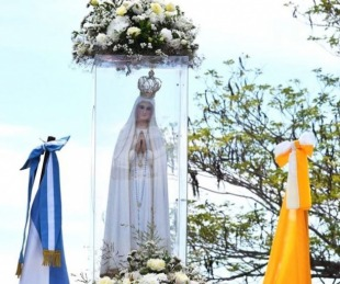 foto: Hoy la Virgen de Fátima visitará su casa en el barrio Juan de Vera