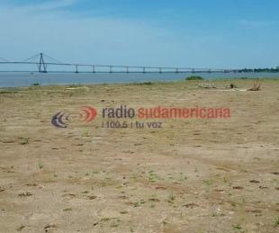 foto: Alerta por la peor bajante del río Paraná en los últimos 40 años