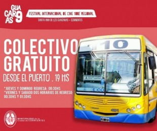 foto: Arrancó el 9º Festival de cine Regional Guácaras