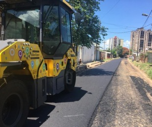 foto: Iniciaron obras de asfalto por calles Las Merceditas