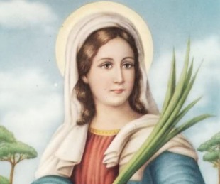 foto: La iglesia católica recuerda hoy a Santa Lucía de Siracusa