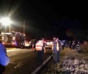 foto: Motociclista murió tras colisionar con una camioneta sobre ruta 12