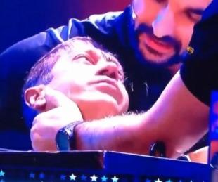 foto: Momento en el que un participante de Got Talent casi muere