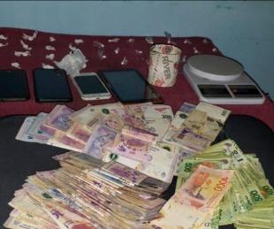 foto: Desbarataron kiosco de droga: incautaron cocaína y $100 mil