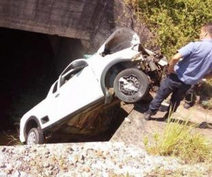 foto: Tras volcar con su vehículo permaneció colgado unas 18 horas
