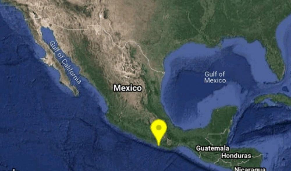 Un sismo de 5.5 grados en la escala richter sacudió el sur de México