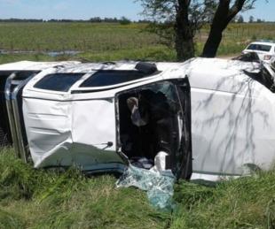 foto: Joven de 17 años murió tras despistar y volcar el auto en el que iba