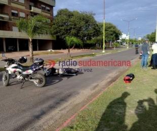 foto: Manejaba alcoholizado y terminó chocando a dos jóvenes en moto