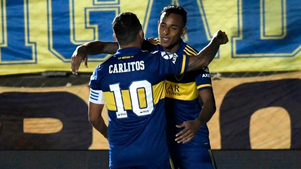 foto: Boca le ganó 2-0 a Universitario de Perú en el ciclo de Miguel Russo