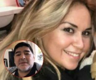 foto: Verónica Ojeda volvió a destrozar a Maradona con una fuerte revelación