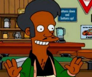 foto: Apu deja Los Simpson tras una polémica racial