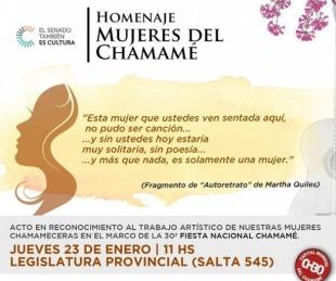 foto: Gustavo Canteros homenajeará a las mujeres del chamamé