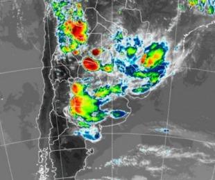 foto: Rige un alerta por tormentas fuertes para la ciudad de Corrientes