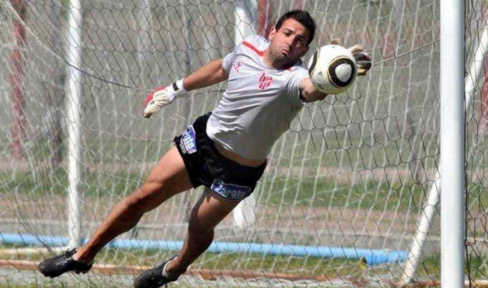 foto: Jorge Carranza es el nuevo arquero de Boca Unidos