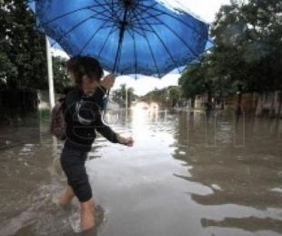 foto: Cayeron 130 milímetros de lluvia en Empedrado y dejó zonas anegadas